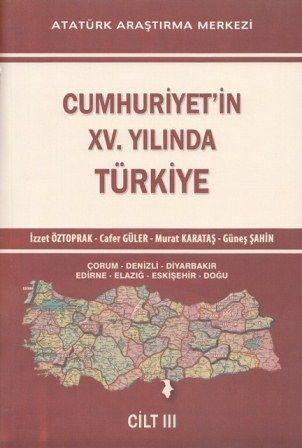 Cumhuriyet'in XV. Yılında Türkiye Cilt III, 2014