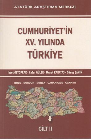 Cumhuriyet'in XV. Yılında Türkiye Cilt II, 2014