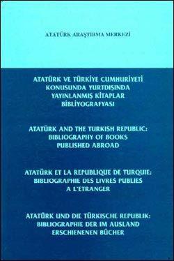 Atatürk ve Türkiye Cumhuriyeti Konusunda Yurtdışında Yayınlanmış Kitaplar Bibliyografyası, 2000