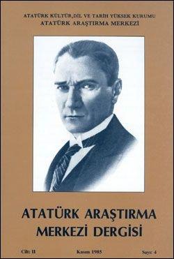 Atatürk Araştırma Merkezi Dergisi, Kasım 1985 , Sayı: 4, 1986