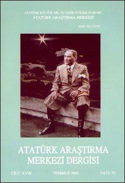 Atatürk Araştırma Merkezi Dergisi, Temmuz 2002 ,Sayı: 53, 2003