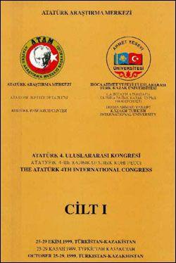 Dördüncü Uluslararası Atatürk Kongresi Cilt 1, 2000