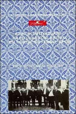 Azınlık İmtiyazları Kapitülasyonlardan Tek Hukuk Sistemine Geçiş, 1998