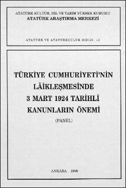 Türkiye Cumhuriyeti'nin Laikleşmesinde 3 Mart 1924 Tarihli Kanunların Önemi, 1995
