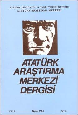 Atatürk Araştırma Merkezi Dergisi  Kasım 1984 , Sayı: 1, 1986