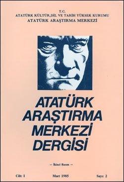 Atatürk Araştırma Merkezi Dergisi, Mart 1985 , Sayı: 2, 1986