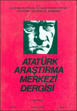 Atatürk Araştırma Merkezi Dergisi, Temmuz 1985 , Sayı: 3, 1986
