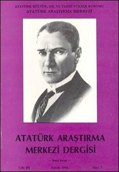 Atatürk Araştırma Merkezi Dergisi, Kasım 1986 , Sayı: 7, 1986