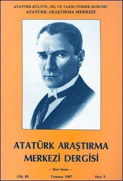 Atatürk Araştırma Merkezi Dergisi, Temmuz 1987 , Sayı: 9, 1987