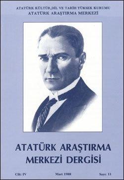 Atatürk Araştırma Merkezi Dergisi, Mart 1988 , Sayı: 11, 1988