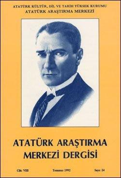 Atatürk Araştırma Merkezi Dergisi, Temmuz 1992 , Sayı: 24, 1992