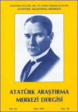 Atatürk Araştırma Merkezi Dergisi, Mart 1993 , Sayı: 26, 1993