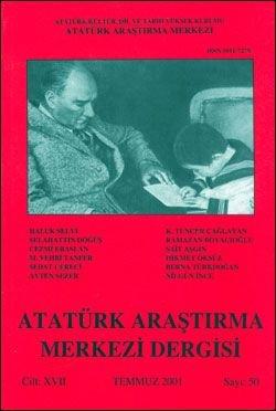 Atatürk Araştırma Merkezi Dergisi, Temmuz 2001 , Sayı: 50, 2002