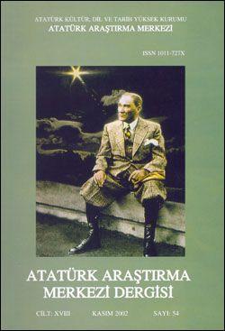 Atatürk Araştırma Merkezi Dergisi, Kasım 2002 ,Sayı: 54, 2003