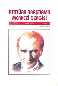 Atatürk Araştırma Merkezi Dergisi, 2011 ,Sayı:79, 2011