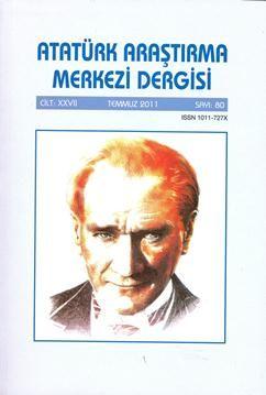 Atatürk Araştırma Merkezi Dergisi, 2011 ,Sayı 80, 2012