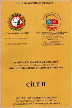 Dördüncü Uluslararası Atatürk Kongresi Cilt 2, 2000