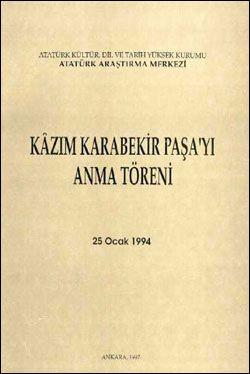 Kazım Karabekir Paşa'yı Anma Töreni (25 Ocak 1994), 1997