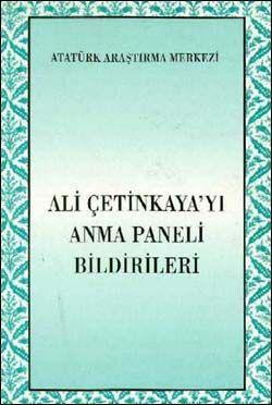 Ali Çetinkaya'yı Anma Paneli Bildirileri, 2000