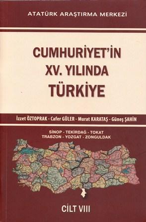 Cumhuriyet'in XV. Yılında Türkiye Cilt VIII, 2015